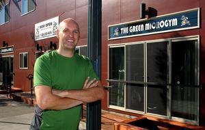Adam Boesel, Founder of The Green Microgym