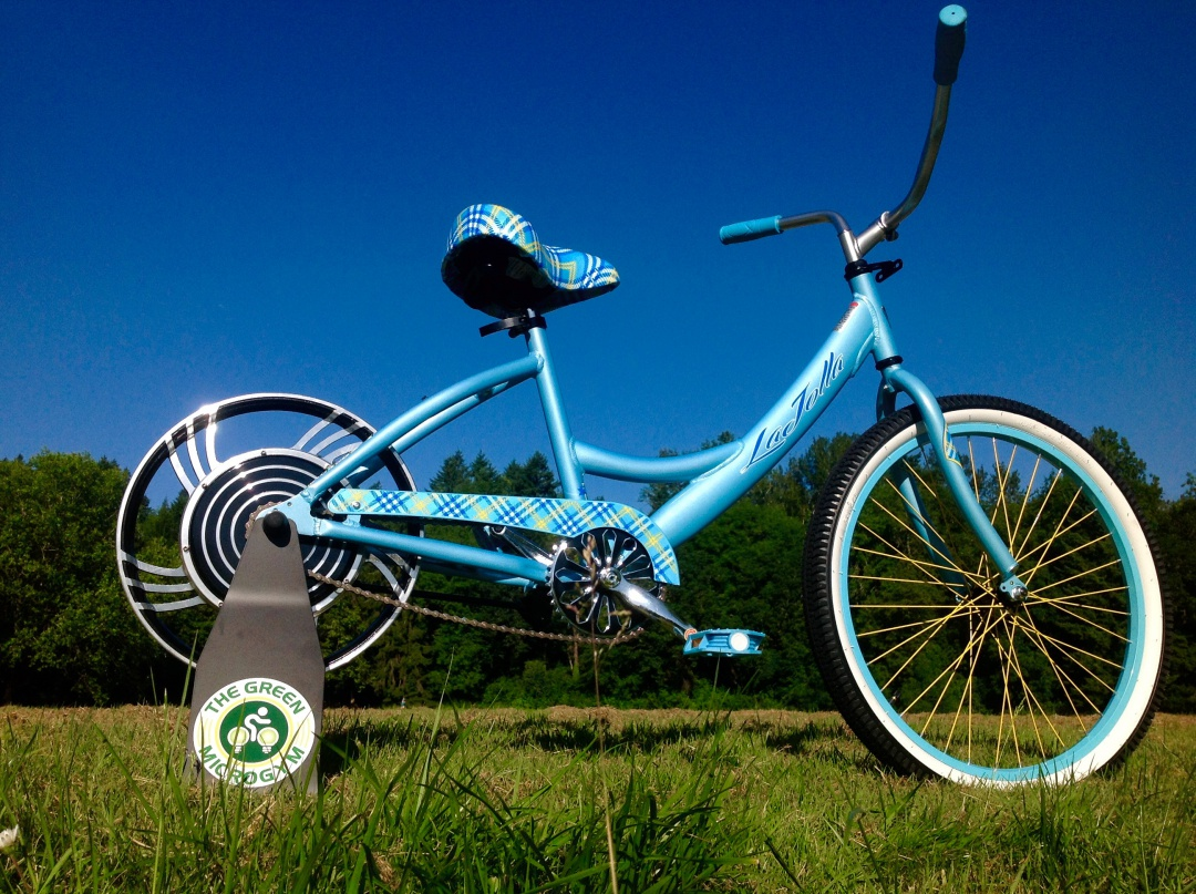 UpCycle Ecocharger: Grid Tied DIY Bicycle Generator Kit