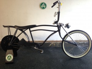 UpCycle Eco-Charger Custom Chopper