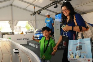 powering the chevy volt at the pan am games