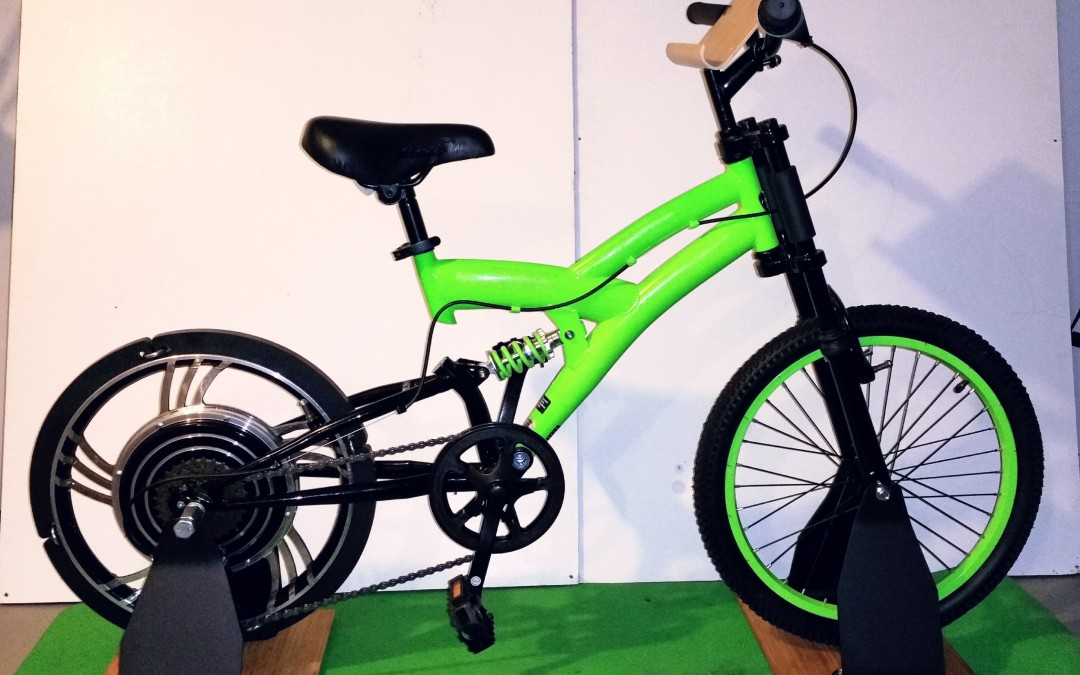 New Green Read and Ride program features the Green Microcycle electricity-producing stationary bike
