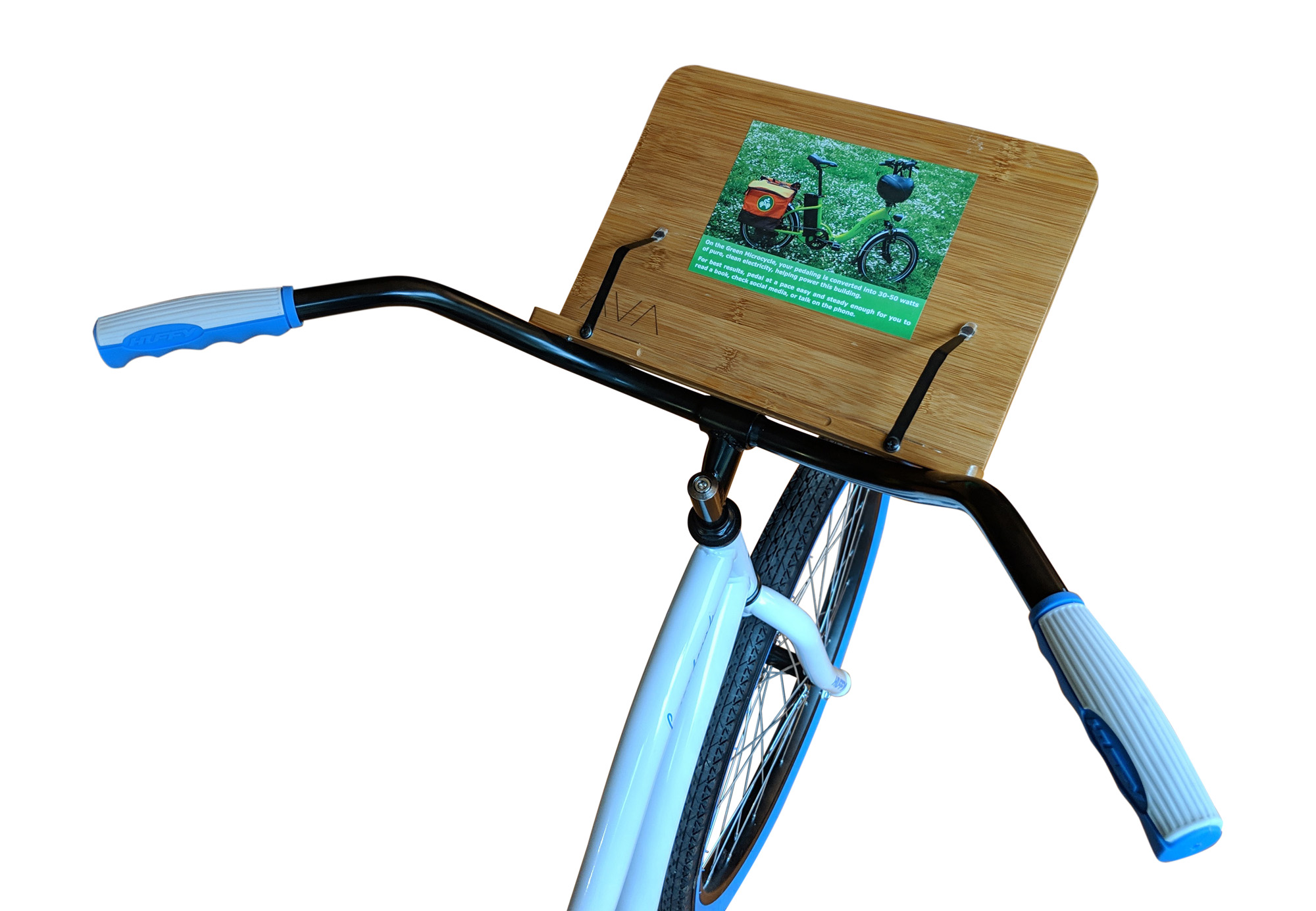The Green Microcycle Read And Ride Bike